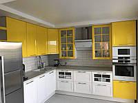 ХИТ! Кухня СИДНЕЙ (RODA): актуальный фасад - узкая рамка из крашенного МДФ