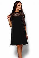 S, M, L / Коктейльне жіноче чорне плаття
