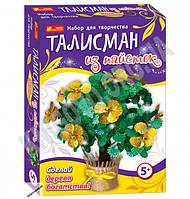 Набор для творчества Талисман из пайеток Дерево богатства 5+ Код 15100055Р Изд Ранок