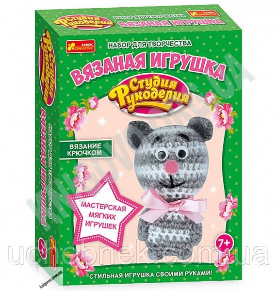 Набор для творчества Вязаная игрушка Котик 7+ Код 13185012Р Изд Ранок