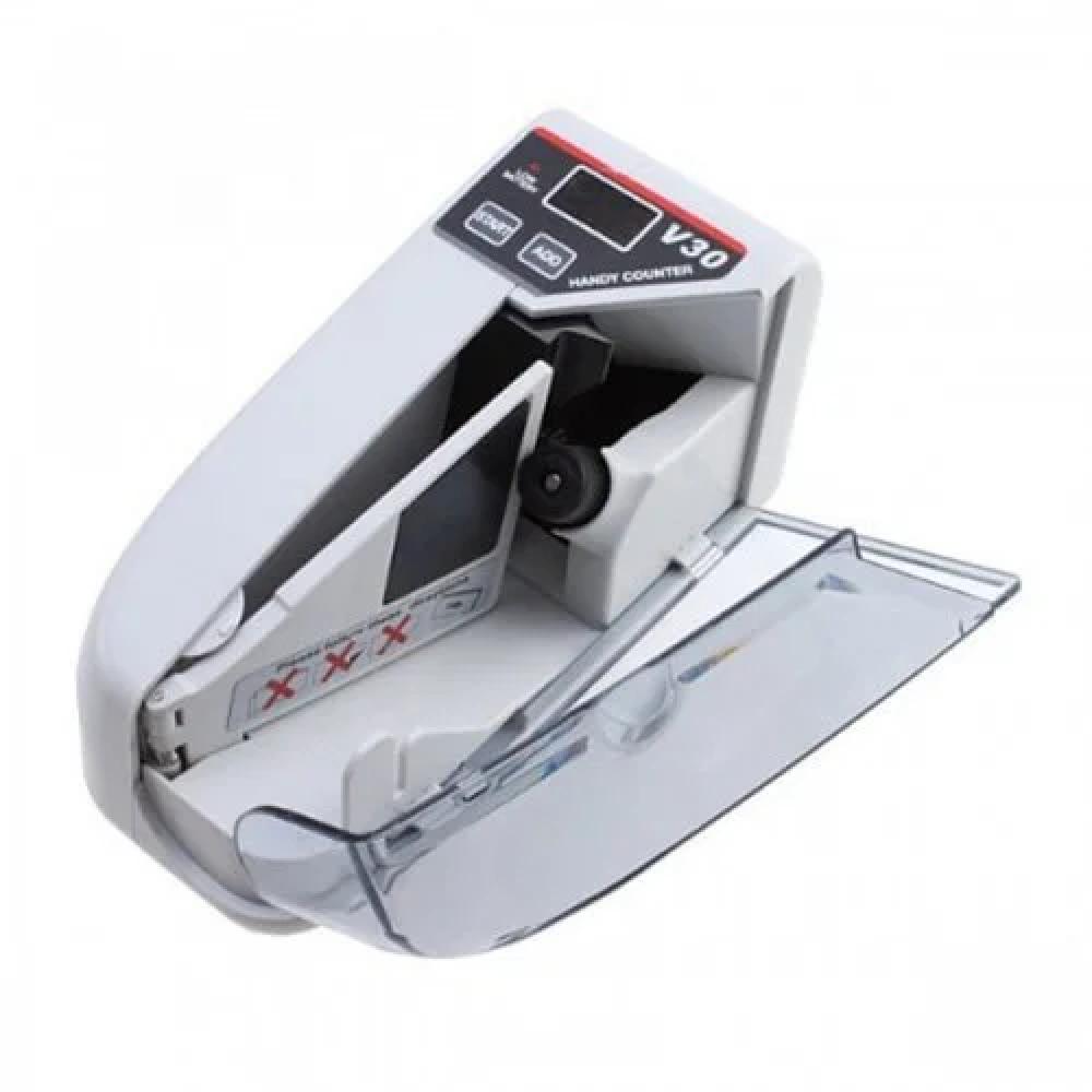 Машинка для счета денег Handy Counter V30 ручная Батарейки/220 V, аппарат для счета денег, счетный аппарат