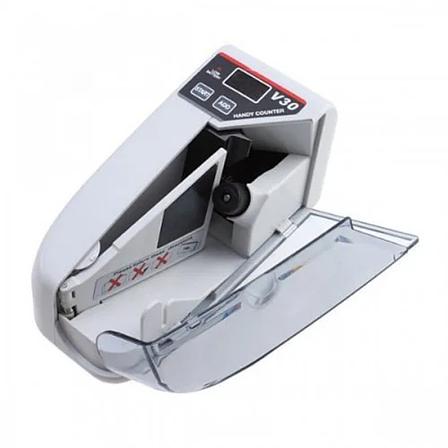 Машинка для счета денег Handy Counter V30 ручная Батарейки/220 V, аппарат для счета денег, счетный аппарат, фото 2