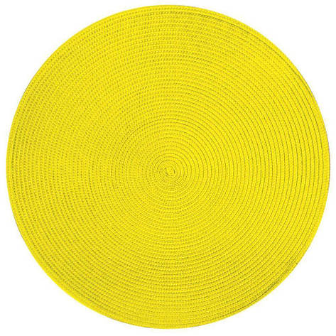 Подставка под горячее, круглая, желто-лимонный, фото 2