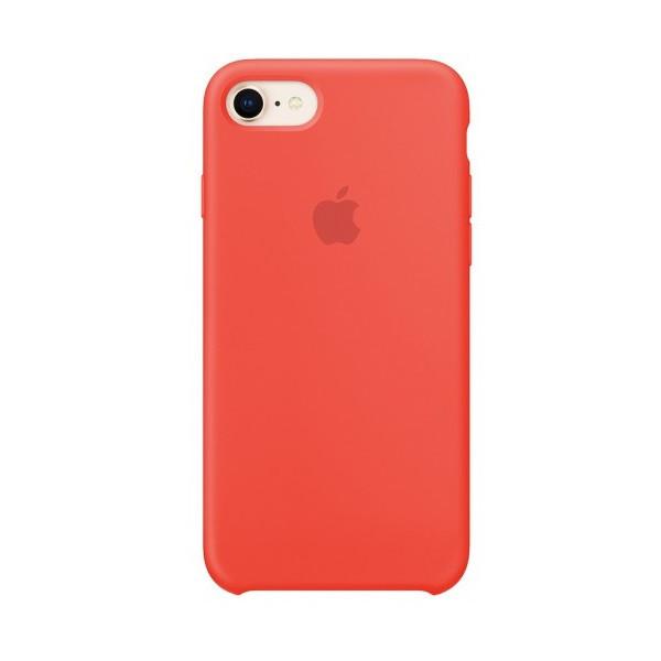 Женский чехол iPhone 7 / 8 коралловый Silicone case