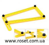 Угломер - складная линейка трансформер для измерения углов multifunctional folding ruler