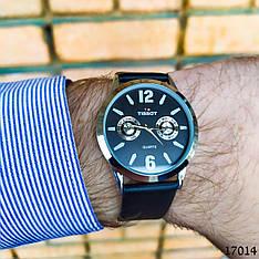 Мужские наручные часы черного цвета. Часы с черным циферблатом Годинник чоловічий