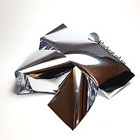 Фольга для дизайна ногтей, фольга для литья серебро