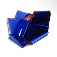 Фольга для дизайна ногтей, фольга для литья синяя