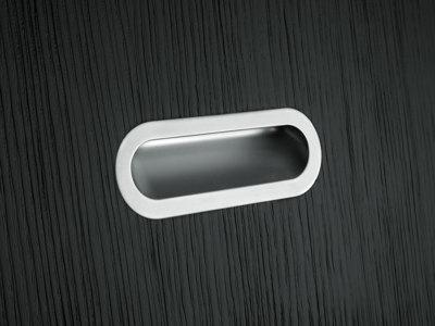 Ручка SMOOTH белый м/о 128мм, врезная PAMAR