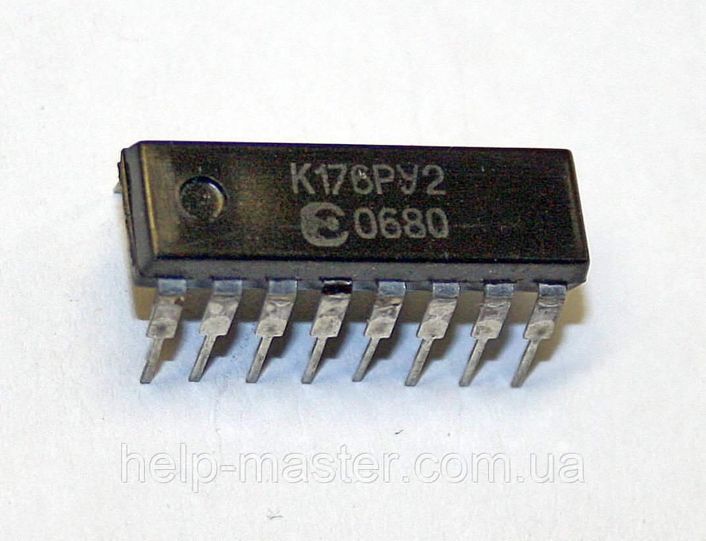Микросхема К176РУ2 (DIP-16)