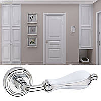 Дверная ручка для входной и межкомнатной двери Fimet, модель Anastasia 198. Италия