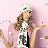 КОМПЛЕКТ зима шапка + шарф
