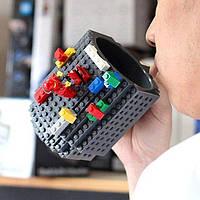 Кружка Лего Lego чашка конструктор 350мл BUILD-ON BRICK MUG Minecraft  Код 13-0507