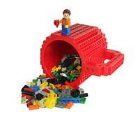 Кружка Лего Lego чашка конструктор 350мл BUILD-ON BRICK MUG Minecraft  Код 13-0517