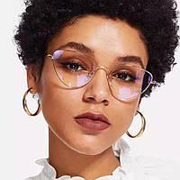 Іміджеві окуляри лисички Чорні