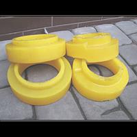 Полиуретановые проставки под пружины для Nissan Patrol Y60 / Y61 (5см)