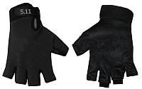 Перчатки тактические 5.11 BC-4379-BK(L) (PL, открытые пальцы, р-р L, черные, защитные)