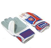 Футбольные вратарские перчатки для детей Arsenal