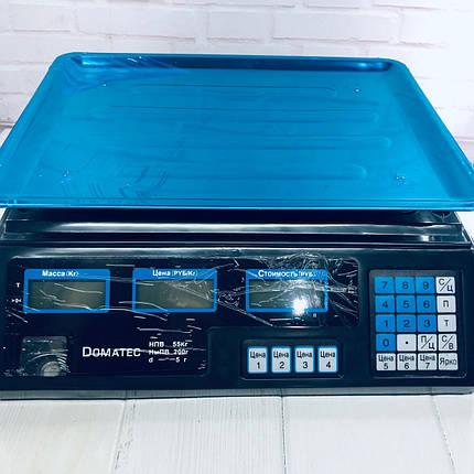 Торговые весы Domotec MS-228 до 50кг, фото 2