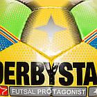 Футзальный мяч Derbystar Futsal Protagonist - Оригинал, фото 2