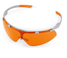 Защитные очки Super Fit, с оранжевыми стеклами