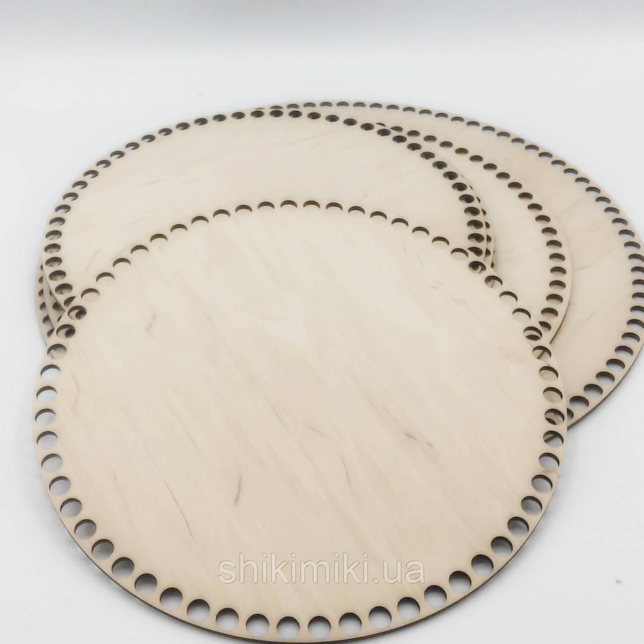 Заготовка из фанеры круглая (22 см)