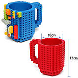 Кружка Лего Lego чашка конструктор 350мл BUILD-ON BRICK MUG Minecraft  Код 13-0552, фото 3