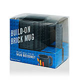 Кружка Лего Lego чашка конструктор 350мл BUILD-ON BRICK MUG Minecraft  Код 13-0552, фото 6