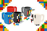 Кружка Лего Lego чашка конструктор 350мл BUILD-ON BRICK MUG Minecraft  Код 13-0552, фото 8