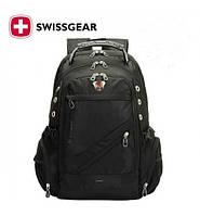 Рюкзак городской Swissgear 8810 + дождевик (Выход USB +AUX)