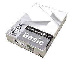 Папір офісний Basic А4 80 г/м2 клас С 500 аркушів