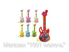 Гитара на батарейке 29 см. 3939-29
