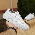 Жіночі кросівки Reebok Club (білі) 2951, фото 2