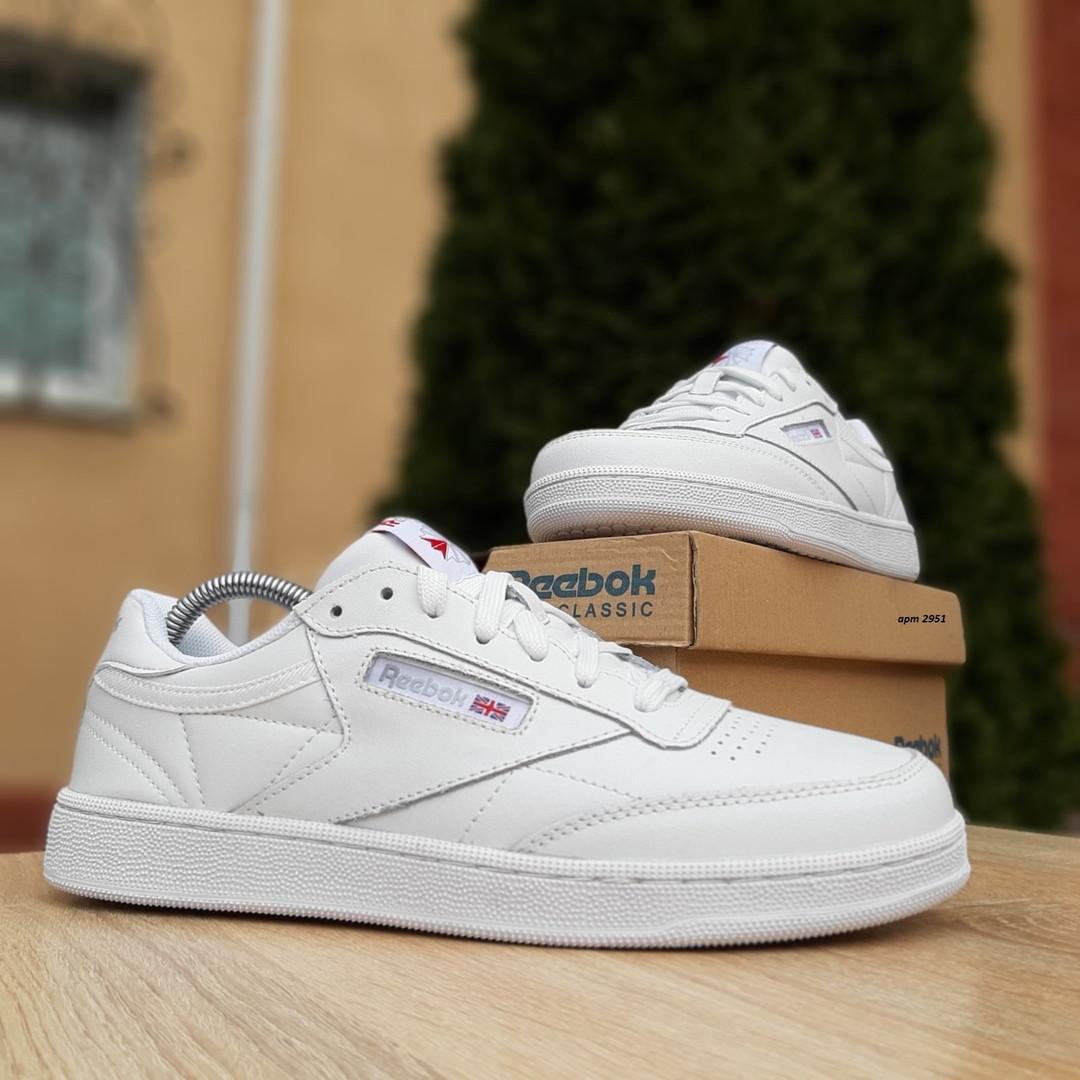 Жіночі кросівки Reebok Club (білі) 2951
