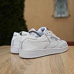 Жіночі кросівки Reebok Club (білі) 2951, фото 3