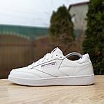 Жіночі кросівки Reebok Club (білі) 2951, фото 4
