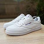 Жіночі кросівки Reebok Club (білі) 2951, фото 7