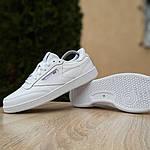 Жіночі кросівки Reebok Club (білі) 2951, фото 9