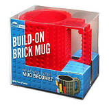 Кружка Лего Lego чашка конструктор 350мл BUILD-ON BRICK MUG Minecraft  Код 13-0589, фото 10