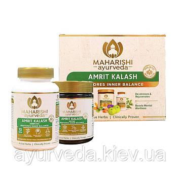 Махариши Амрит Калаш, антиоксидант, для иммунитета и имоложения, MAK  (MA5 таблетки + МА4 паста)