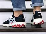 Мужские кроссовки Nike React Presto (темно-синие с бежевым), фото 2