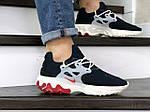 Мужские кроссовки Nike React Presto (темно-синие с бежевым), фото 4