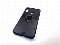 Противоударный чехол IronMan Samsung Galaxy A20S (черный)