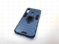 Противоударный чехол IronMan Samsung Galaxy A20S (темно-синий)