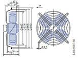 Осевой вентилятор Ziehl-Abegg FB050-VDK.4I.V4P, фото 2