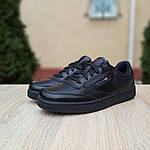 Женские кроссовки Reebok Club (черные) 2952, фото 6