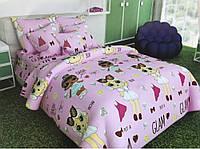 Хлопковое детское постельное бельё.