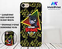 Силиконовый чехол для Apple Iphone 6_6s Brawl Stars Ворон  (Бравл Старс) (4004-3427)