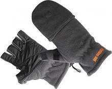 Перчатки флисовые Fishing ROI Gray Fleece glover L
