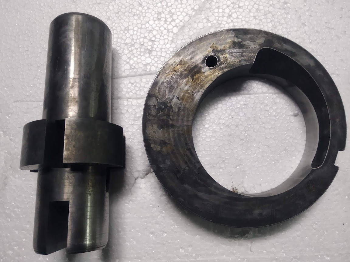 Ротор и корпус насоса эрозионная обработка